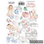 Набор наклеек (стикеров) 075 Shabby baby girl redesign 1, ТМ Фабрика Декора - ScrapUA.com