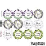 Набор наклеек (стикеров) для журналинга 1-036, ТМ Фабрика Декора - ScrapUA.com