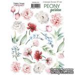 Набор наклеек (стикеров) 27 шт Peony garden 215, ТМ Фабрика Декора - ScrapUA.com