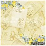Деко веллум (лист кальки с рисунком) Весенние открытки, ТМ Фабрика Декора - ScrapUA.com