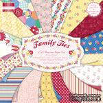 Набор бумаги для скрапбукинга First Edition -  Family Ties, 48 листов, размер 30х30 см. - ScrapUA.com