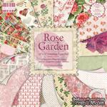 Набор бумаги для скрапбукинга First Edition - Rose Garden, 16 листов, размер 30х30 см - ScrapUA.com