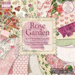 Набор бумаги для скрапбукинга First Edition - Rose Garden, 16 листов, размер 20х20 см - ScrapUA.com