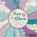 Набор бумаги для скрапбукинга First Edition - New Bloom, 48 листов, размер 20х20см. - ScrapUA.com