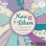 Набор бумаги для скрапбукинга First Edition - New Bloom, 16 листов, размер 15х15 см. - ScrapUA.com