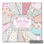 Набор бумаги от First Edition - Bella Rose, 20х20 см, 16 листов - ScrapUA.com