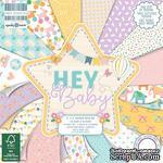 Набор бумаги для скрапбукинга First Edition - Hey Baby, 48 листов, 15х15 см - ScrapUA.com