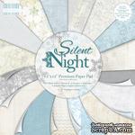 Набор бумаги от First Edition - Silent Night, 30х30 см, 48 листов - ScrapUA.com