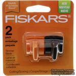 Лезвия для резака Fiskars Paper Trimmer Aluminum Rail, тип К, для резки и биговки, 2 шт. - ScrapUA.com