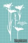 Чипборд от Вензелик - Набор флора 16, размер: 76x135 мм - ScrapUA.com