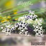 Чипборд от Вензелик - Набор флоры 26, размер: 125x98 мм - ScrapUA.com