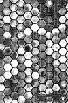 Акриловый штамп от Flourishes -  HONEYCOMB, 10x15 см. - ScrapUA.com