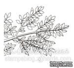 Акриловый штамп FL015 Ветка дерева, размер 4,1 * 2,8 см - ScrapUA.com