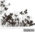 Акриловый штамп FL018 Цветы, размер 6,1 * 4,1 см - ScrapUA.com