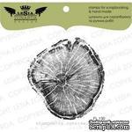 Акриловый штамп Lesia Zgharda FL130 Срез дерева больший, размер 5,9х6,2 см - ScrapUA.com