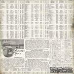 Лист односторонней скрапбумаги от Каралики, 30х32см, 200г/м2 - ScrapUA.com