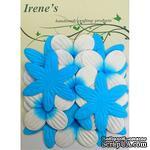 Декоративные цветы разных цветов, размер упаковки: 12х16,5 см, 20 шт. - ScrapUA.com