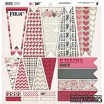 Высечки Fancy Pants - Love Note Banner Die Cuts, размер 30х30 см. - ScrapUA.com