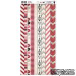 Наклейки Love Note Tape Stickers, размер 15х30 см. - ScrapUA.com