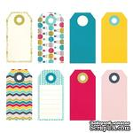 Тэги от Fancy Pants - What A Wonderful Day Decorative Tags - ScrapUA.com