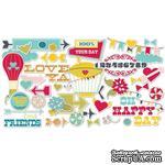 Высечки Fancy Pants - What A Wonderful Day Ephemera Pack - ScrapUA.com