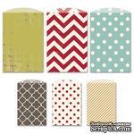 Конверты-пакетики Fancy Pants - Merry little Christmas Decorative Bags - ScrapUA.com