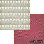 Лист двусторонней скрапбумаги Fancy Pants - Timbergrove Crystals Paper, 30х30 см - ScrapUA.com
