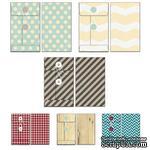 Набор конвертов Fancy Pants - Timbergrove Patterned Envelopes - ScrapUA.com