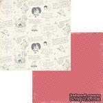 Лист двусторонней скрапбумаги Fancy Pants - Be.Loved Sentiments Paper, 30х30 см - ScrapUA.com