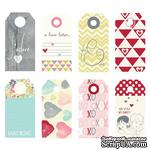 Тэги Fancy Pants - Be.Loved Small Decorative Tags - ScrapUA.com