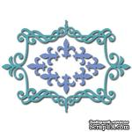 Лезвие Crafty Ann - Fleur De Lis Frame - ScrapUA.com