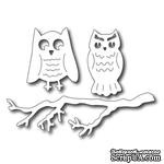 Лезвие Frantic Stamper - Cutting Die - Spooky Owls and Branch set - ScrapUA.com