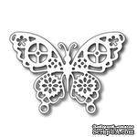 Лезвие Frantic Stamper - Cutting Die - Geared Butterfly - ScrapUA.com