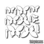 Лезвие Frantic Stamper - Cutting Die - Petite Butterflies - ScrapUA.com
