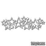 Лезвие Frantic Stamper - Precision Die - Star Border - ScrapUA.com