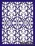 Лезвие Arabian Night Rectangle Frame от Cheery Lynn Designs - ScrapUA.com