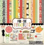 "Набор бумаги от Echo Park ""Tailored - Collection Kit For the Record 2"", 30x30, 12 листов - ScrapUA.com"