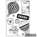 Акриловые штампы Farm House - Fair Skies Stamps - Dusk - ScrapUA.com