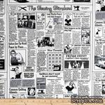 Ткань 100% хлопок - Газета шитье и мода, 45х55 см - ScrapUA.com