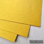 Дизайнерский картон с металлизированным эффектом Stardream gold, 30х30, 285 г/м2, 1 шт. - ScrapUA.com