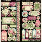 Лист наклеек Graphic 45 - Bloom Stickers - ScrapUA.com
