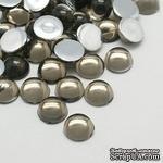 Прозрачные капли DarkGray, 6x3мм, цвет серый, 20 шт. - ScrapUA.com