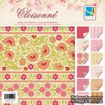 Набор скрапбумаги GCD Studios -Cloisonne - 12 двусторонних листов, размер: 20x20 см. - ScrapUA.com