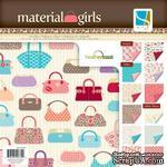 Набор скрапбумаги GCD Studios -Material Girl - 12 двусторонних листов, размер: 30x30 см - ScrapUA.com
