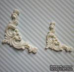 Гибкие пластиковые фигурки - Уголок правый (бол), 3,8х3,8см - ScrapUA.com