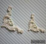 Гибкие пластиковые фигурки - Уголок правый (мал), 3х3см - ScrapUA.com