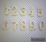 Набор гибких пластиковых фигурок - Цифры 0-9, высота 2 см, 10 шт. - ScrapUA.com
