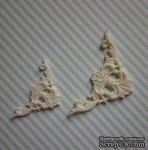 Гибкие пластиковые фигурки - Уголок левый (мал), 2,7х2,7см - ScrapUA.com