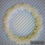 Гибкие пластиковые фигурки - Рамка круглая №1, диаметр 6,5 см - ScrapUA.com