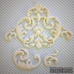 Гибкие пластиковые фигурки - Набор вензелей, 3 шт., от 3,5 см до 12 см - ScrapUA.com